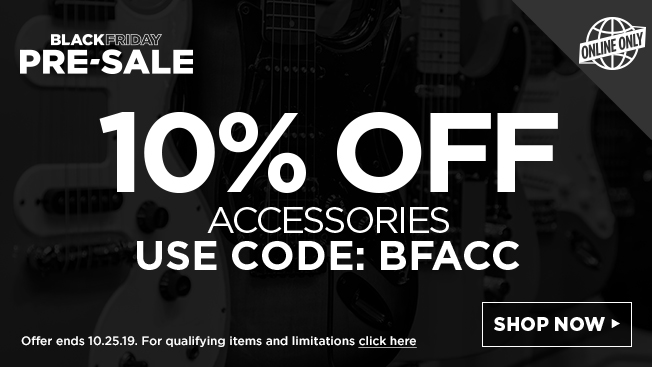 Black Friday Pre-Sale Sub: Get 10% Off Accessories. use code: BFACC