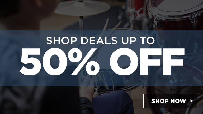 shop deals up to 50% off.