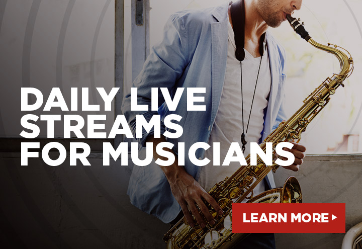 Daily Live Streams for Musicians