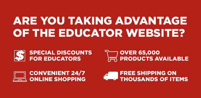 ARE YOU TAKING ADVANTAGE OF THE EDUCATOR WEBSITE?