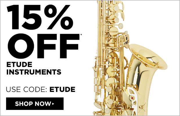 15% off Etude Instruments   Use Code: ETUDE