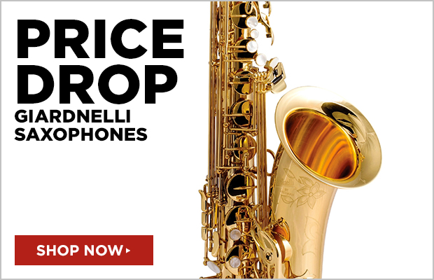 Price Drops on Giardinelli Saxophones